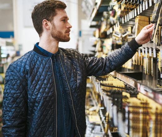 Zarządzanie towarami w sklepie